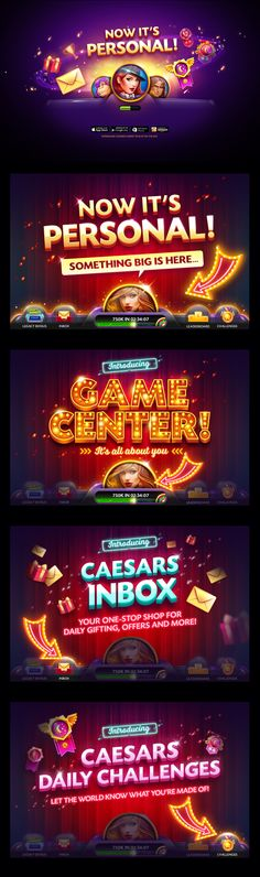 Game Feature Promo on Behance