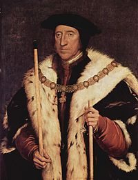 Thomas Howard, 3rd Duke of Norfolk (1473 – 25 August 1554) (Earl of Surrey from 1514). He was known as the  the ugliest man of the King´s court.