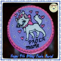 Marie B~day cake by J&R Creations  787-217-2735