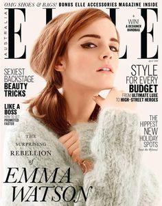 Emma Watson for Elle Australia, April 2014