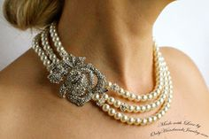 Handmade Bridal and Wedding Jewelry by Vintage touch: Unique Designs for Wedding Jewelry