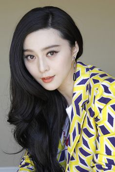 Famous Chinese Actress Fan Bingbing
