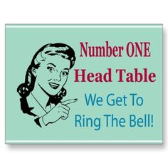 Add this fun table card to your Bunco gear. This Bunco graphic design is sure to be a winner at your next Bunco event. Perfect for the number one head table that get's to ring the bunco bell. Bunco Prizes, Bunco Game, Bunco Party, Game Party, Bunco Themes, Bunco Ideas, Party Ideas, Gift Ideas, Bunco Gifts