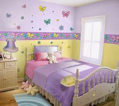 Dormitorios para niñas con mariposas - Dormitorios colores y estilos Teen Girl Rooms, Teenage Girl Bedrooms, Little Girl Rooms, Girls Bedroom, Bedroom Decor, Dreams Beds, Girl Bedroom Designs, Home And Deco, Kids Room