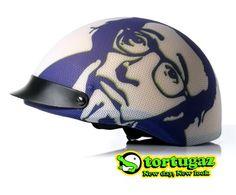 Tortugaz™ Universal Bicycle Skateboard Helmet Cover Skin Protector Woody Allen