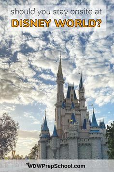 Disney World trips aren't cheap, and one of the biggest expenses you'll have are your resort costs. You *can* save some $money$ by staying offsite, but is it worth it? Here's all the things you need to consider before you decide. Disney World Vacation, Disney World Resorts, Disney Vacations, Disney Trips, Hotels And Resorts, Walt Disney World, Disney On A Budget, Disney S