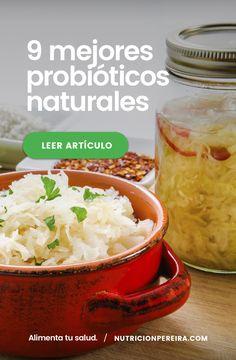 Los 9 mejores probióticos naturales ⬅ ¡Te sorprenderán recuperarás tu salud digestiva  . . . . #probioticos #chucrut #probioticosnaturales #prebioticos #microbiotaintestinal #floraintestinal #microbiota #fruta #verduras #alimentatusalud #nutricionpereira