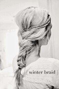 { winter braid }