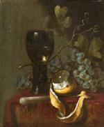 Abraham van Beyeren, (Dutch, 1620-1690), Still Life with Knife and Goblet