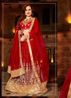 Buy Masterly Embroidered Work Lehenga Choli, Online    #ethnic #indianethnic #indianethnicwear #indianwedding #bridalwear