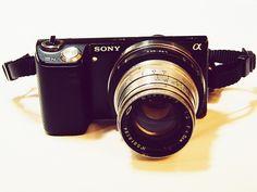 Tags:   Ukraine, Chernivtsi, Sony NEX-5N, camera, lens, tool, vintage, photographer, Sony DSC-H5, photography, Jupiter-8 50mm F2, bayonet, M39, Sony NEX E-mount