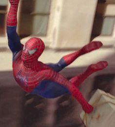 Marvel in film - 2004 - Tobey Maguire as Spider-Man - Spider-Man 2 by Sam Raimi Spiderman 2016, Spiderman Pictures, Spiderman Art, Batman Vs Superman, Amazing Spiderman, Spiderman Ps4 Wallpaper, Spiderman Sam Raimi, Spider Men, Spider Man Trilogy