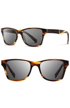 Shwood 'Canby' 53mm Wood Sunglasses | Nordstrom