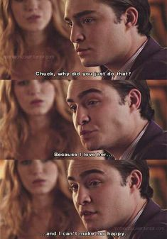 Gossip Girl | omfgg , i loveee this scene but it's sorta sad ;'c #ChairGossipGirl