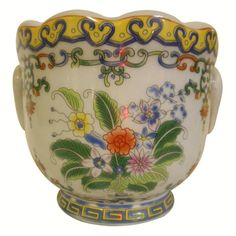 Buy porcelain cachepot in out large showroom in Norwalk Ct or in our website.