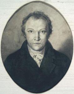 William Blake, self portrait