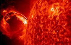 Coronal Mass Ejection - Space Photos