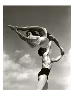 Vanity Fair - October 1934  by Lusha Nelson #Photography #Dance #Blackand white