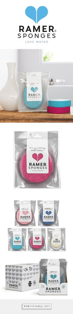Ramer Body Sponges Branding and Packaging by Buddy Creative | Fivestar Branding Agency – Design and Branding Agency & Inspiration Gallery