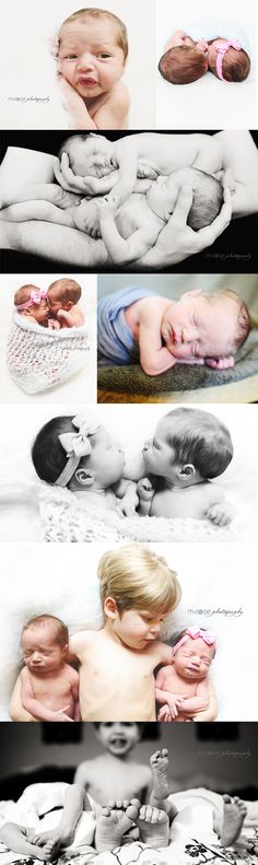 Newborn Twin Photography | M Rose Photography