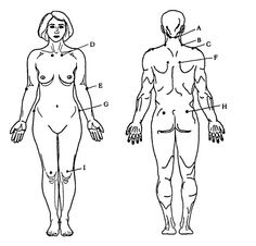 tattoo placements for women and texts on pinterest : autopsy diagram - findchart.co