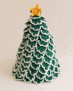 Christmas Tree TP Topper Crochet Pattern