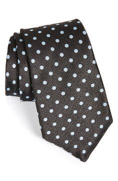 Men's Ike Behar Woven Silk Tie