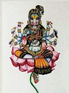 Indian Goddess Kali, Goddess Art, Durga Goddess, Indian Gods, Shiva Purana, Beauty Tips With Honey, Yashoda Krishna, Indian Art Gallery, Lord Vishnu Wallpapers