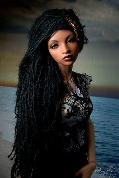 black bjd dolls - Google Search