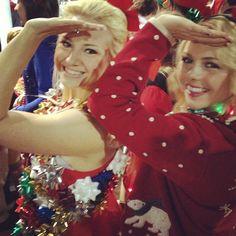 DG tacky Christmas sisterhood event! hahaha someone's been pinning jordan and chelsea