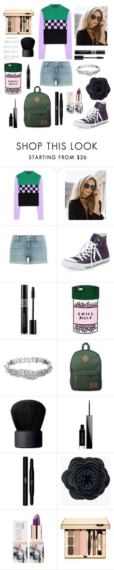 """""""♌"""" by georgyana7770 ❤ liked on Polyvore featuring Versace, Paige Denim, Clinical Care Skin Solutions, Christian Dior, ban.do, Kate Spade, Dickies, NARS Cosmetics, Givenchy and Yves Saint Laurent"""