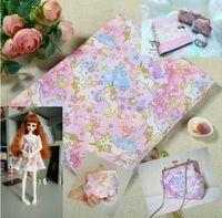 150*100cm Unicorn Horns Cartoon lovely Cotton Fabric Baby Wallpapers Diy Handmade Craft Bedding Home Cloth Purse Quilt