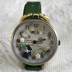MINI hodinky - Zajíček Pocket Watch, Watches, Accessories, Fashion, Moda, Wristwatches, Fashion Styles, Clocks, Fashion Illustrations
