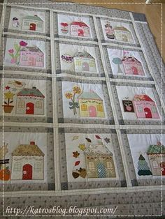 Country Cottages, free BOM from Shabby Fabrics