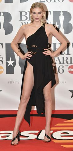 Brit Awards Most memorable red carpet outfits from Labrinth, Little Mix, Rihanna and Brit Awards 2016, Little Mix, Mannequin, Sexy Outfits, Rihanna, Red Carpet, How To Memorize Things, Actresses, Formal Dresses