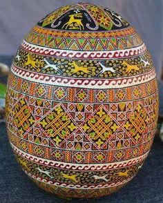 Pysanka art , Ukraine , from Iryna