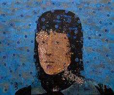 Erik Formoe. Outsider Art, Paintings, Faces, Painting Art, Painting, Paint, Draw, Portrait, Illustrations