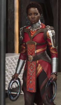 Lupita Nyong'o as Nakia in Black Panther film Black Panther King, Black Panther 2018, Black Panther Marvel, Marvel Heroes, Marvel Dc, African American History, Black Is Beautiful, Black Girl Magic, Black History