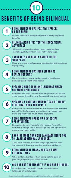 10 Amazing Benefits of Being Bilingual | Bilingual Kidspot