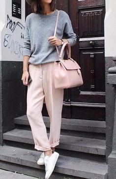 Серый и розовый: сочетание легкости и свежести!
