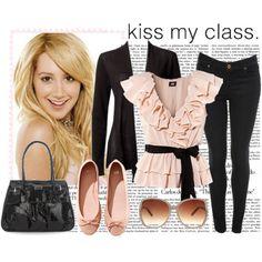 black blazer or cardigan