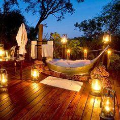 Hot Candlelit baths