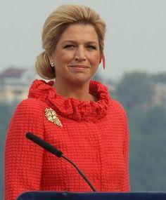 Reina Máxima de Holanda.