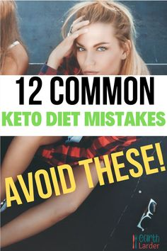 Looking at starting the keto diet the right way? Want to avoid the keto flu as much as possible? Check out these tips around avoid these 12 very common keto diet mistakes. Weight Loss Meal Plan, Diet Plans To Lose Weight, How To Lose Weight Fast, Keto For Women, Keto Flu, Ketogenic Diet For Beginners, Keto Diet Plan, Weight Loss For Women, Keto Dinner