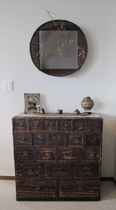 :: Tansu - antique Japanese cabinet