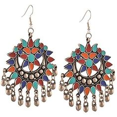 latest  afghani earrings 2017