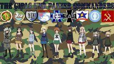 The Overall Commanders (Girls und Panzer) Fonds d'écran, Arrières-plan | 1920x1080 | ID:714123