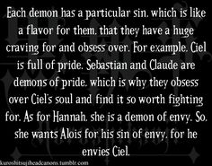 Makes sense (oh look it's my two most prominent sins I have a crap ton of pride AND envy so... dammit)