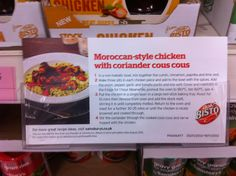 Sainsburys Sydenham Sainsburys, Couscous, Coriander, Cinnamon, Spices, Stuffed Peppers, How To Make, Canela, Spice