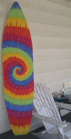 6+Foot+Wood+Hawaiian+Surfboard+Wall+Art+by+HopelessRomanticShop